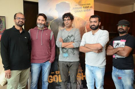 Abburi Ravi First Look From Operation Gold Fish Movie Launch By Trivikram HD Gallery