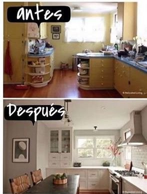 Pin By Livia Gutierrez On Antes Y Despues Kitchen Transformation Kitchen Remodel Remodel