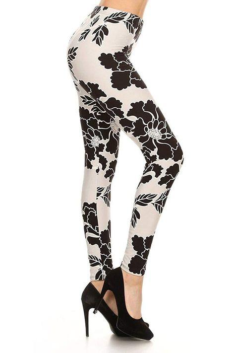 789e5cf15c Leggings Depot Yoga Waist REG/Plus Women's Buttery Soft Leggings BAT2