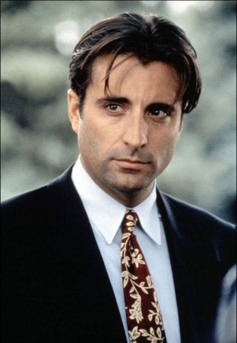 """Andy Garcia <3  Lots of great films but remember him in """"When a Man Loves a Women""""  Wow!"""