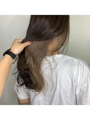 2020年冬 ロング インナーカラーの髪型 ヘアアレンジ 人気順 8