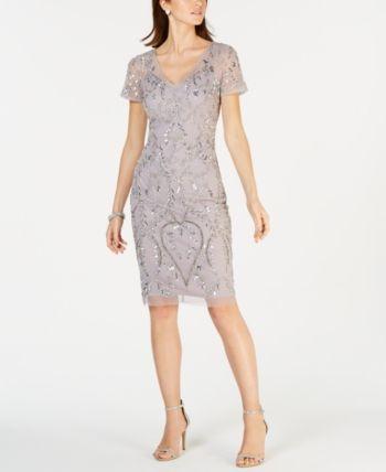 84212949e4f Antonio Melani Janet Sleeveless Nailhead Suiting Sheath Dress in 2019