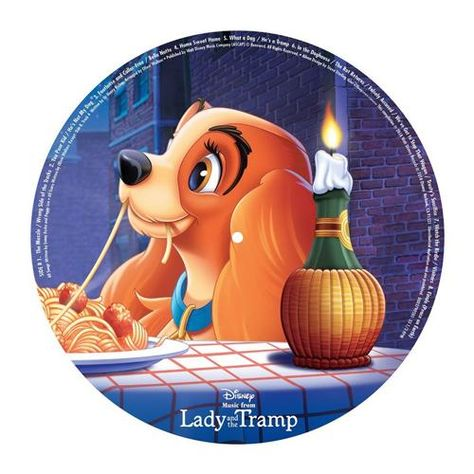 Lady and the Tramp - Various Artists Picture Disc Vinyl LP