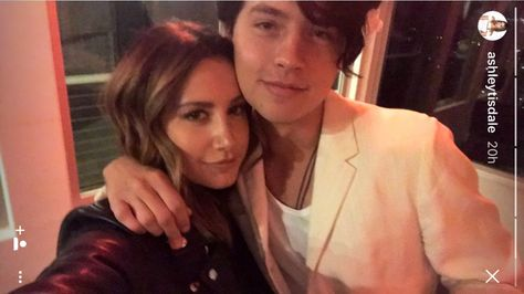 Cole Sprouse and Ashley Tisdale Had a Mini