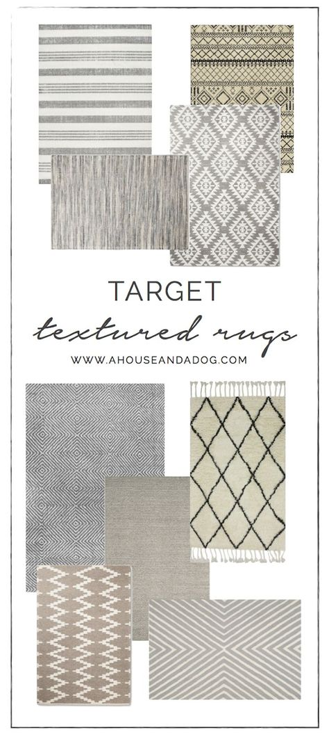 Textured Neutral Rugs For A Rustic Farmhouse Space Rugs In
