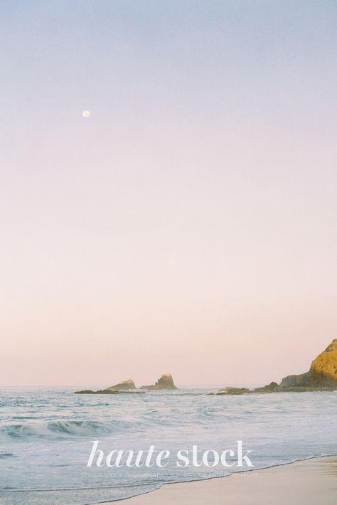 Summer landscape travel styled stock photography for female entrepreneurs featuring sunset at the beach. #hautestock #summer #stockphotography #lifestyle #femaleentrepreneur #branding #blogging # socialmedia #summer #landscape #nature