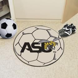 Alabama State University Soccer Ball Mat Officially Licensed Team