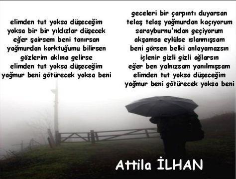 Atilla Ilhan şiirleri En Yeniler En Iyiler Resimli Yazılarım