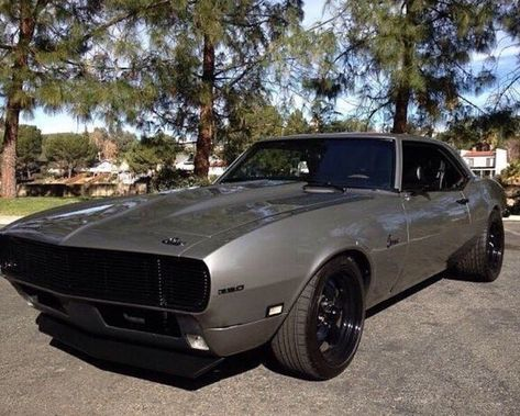 1968 Gun Metal Camaro and I want it ok...Re-pin brought to you by #InsuranceAgents at #HouseofInsurance Eugene, Or. #541-345-4191