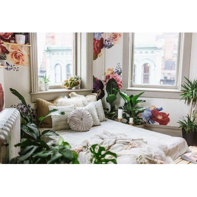 Urban Walls Vintage Floral Wall Decal Home Design Decor College