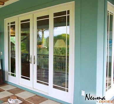 Neuma Doors Gliding Fiberglass Patio Door With Prairie Lite Gbg Fiberglass Patio Doors Patio Patio Doors