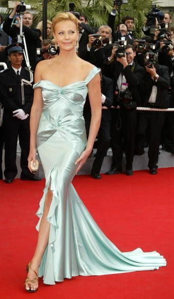 Charlize Theron in Christian Dior, 2004 - The Most Daring Dresses on the Cannes Red Carpet - Photos