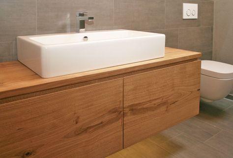 Waschtisch Unterschrank Holz Bild Das Sieht Faszinierend
