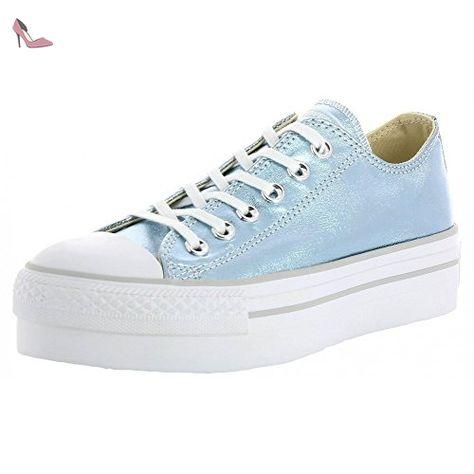 Converse Pro Leather Vulc Distressed Ox, Sneakers Femme, Blanc (Star blanc/Silver/Turtledove), 36 EU