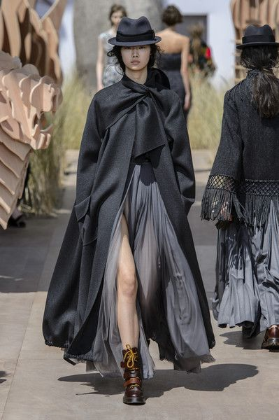 Runway pictures from the Christian Dior show at Couture Fall 2017.