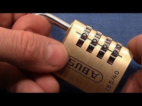3a12ce2bded9 849) How to Pick 5-Digit Combo Locks - YouTube | TO LEARN ...