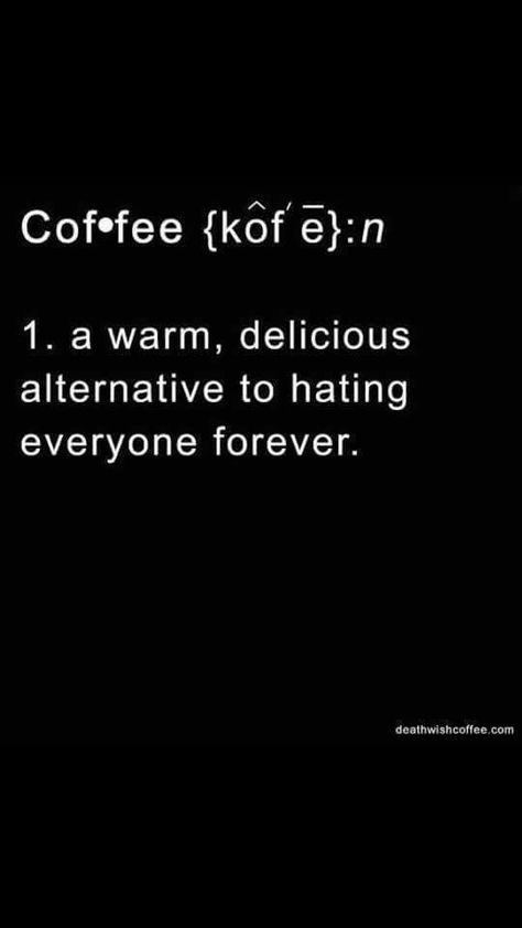 Coffee: a warm...