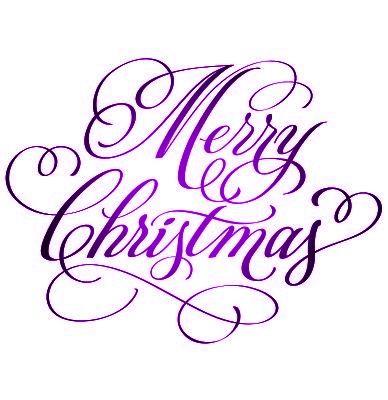 Purple Christmas.Pin On Fonts