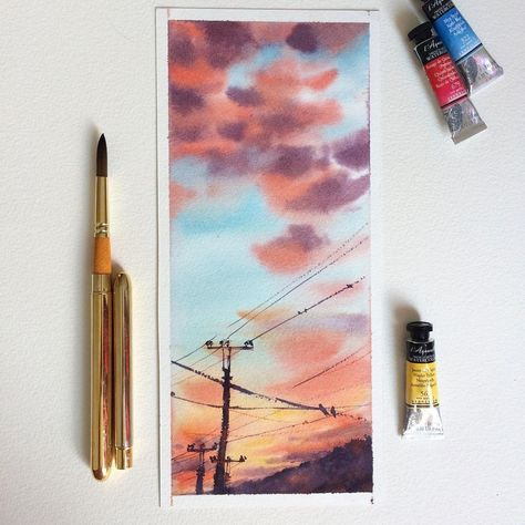 Vse Grani Akvareli On Instagram Watercolorist