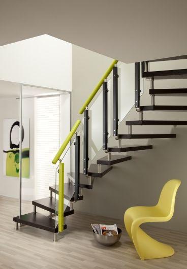 Offene treppe mit grünem geländer das original direkt vom hersteller unnerstall treppen treppe