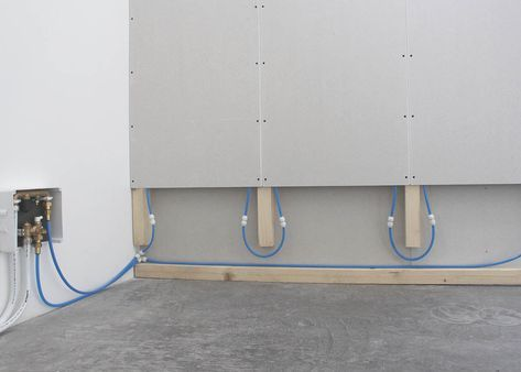 Anleitung Montage Wandheizung Mit Trockenbauelementen Flexiro Shop Wandheizung Haus Umbau Flachenheizung