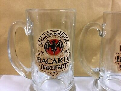 1 Bacardi Mojito Glass New 1 Bacardi Oakheart Tankard