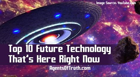 Narrowing down the top 10 future technology that exists