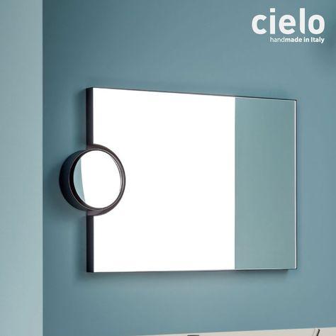 Miroir Lumineux Mural Design 90x60 Miroir Grossissant Polifemo Cielo Miroir Lumineux Miroir Grossissant Miroir