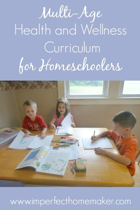 Our Multi-Grade Homeschool Health Curriculum   Imperfect Homemaker