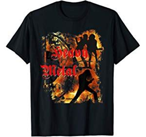 Heavy Metal T Shirt Fur Manner Frauen T Shirt Manner Shirts