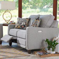 Loveseat Living Room, Trendy Living Rooms, Farm House Living Room, Family Room, Furniture, Living Room Designs, Love Seat, Home Furniture, Living Room Furniture