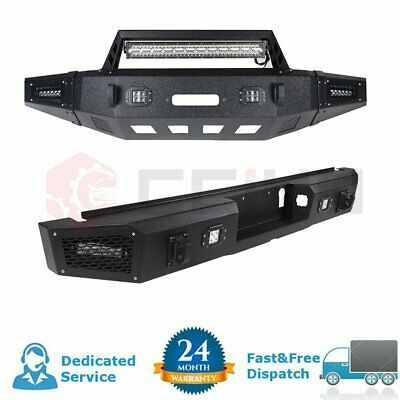 Sponsored Ebay For Ford F 150 15 17 Rear Front Bumper Guard Black