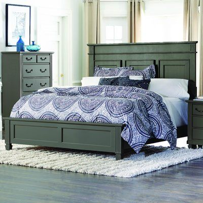 Alcott Hill Gunther Standard Bed Panel Bed Bed Frame With
