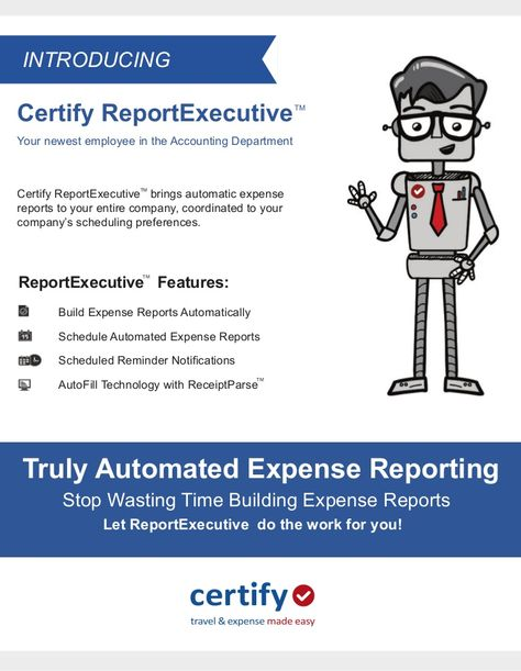 Expense report is really a bit of substance with the data on - expense reports