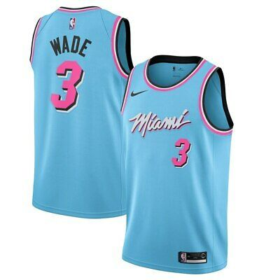 Ad Ebay Link Miami Heat Dwyane Wade 3 Nike 2019 20 Nba Swingman Jersey City Edition In 2020 Nba Miami Heat Miami Heat Dwyane Wade