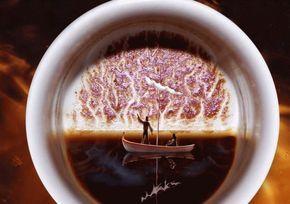 Gadanie Na Kofejnoj Gushe Znachenie Simvolov Turkish Coffee Ground Coffee Beans Food