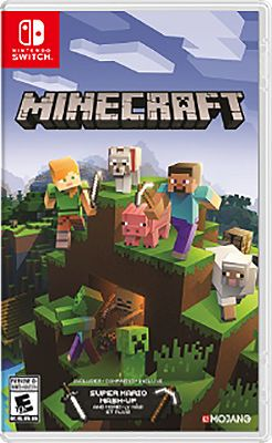 Nintendo Switch Minecraft Video Game Hacpaeuca In 2021 Nintendo Switch Games Minecraft Video Games Minecraft Games