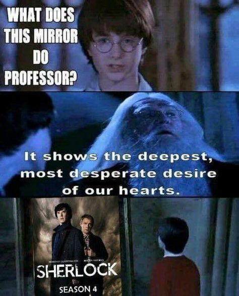 Yes i desire Sherlock season 4 too!