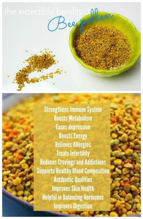 The Incredible Benefits of Bee Pollen