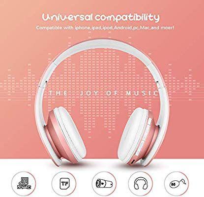 Zapig Wireless Kids Headphones With Microphone Amazon Co Uk Electronics Kids Headphones Headphones Headphones With Microphone
