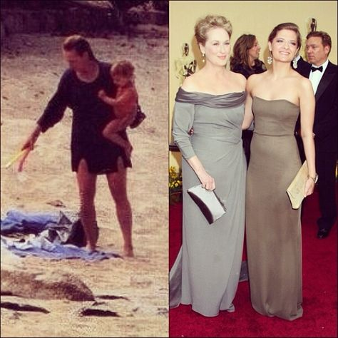 Meryl & daughter Louisa