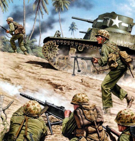 Marines at Iwo Jima 1945 - pin by Paolo Marzioli