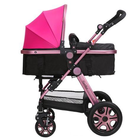 joov ya caboose muñecas cochecito juguete bebé tándem azul Para niños pequeños paraguas