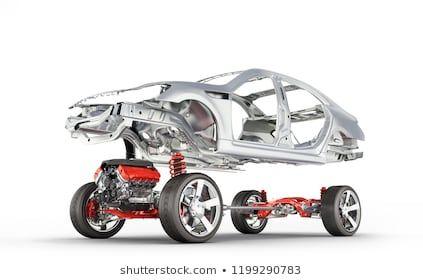Body Suspension Car Wheel Engine Undercarriage Stock Illustration 1190301856 Car Stock Illustration Car Wheel
