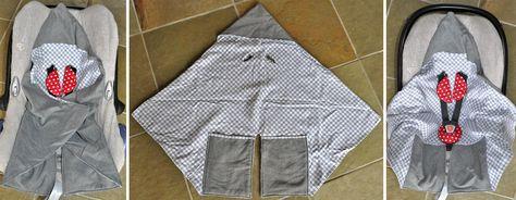 Wanneer je kleintje geboren is, wil je natuurlijk niet dat hij of zij het koud krijgt in de autostoel! Er zijn volop doeken te verkrijgen, d...