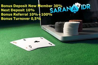 Agen Poker Online Terpercaya Saranaidr 1 Promo Bonus Deposit New Member 30 2 Promo Next Deposit 10 3 Promo Referral 10 100 4 Promo Turnov Poker Jam