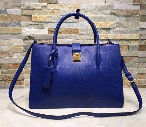 Miu Miu Blue Calfskin (R1103C) Tote 2015   Miu Miu Tote Bags for ... 7f199a9d3a