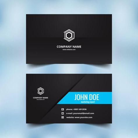 Muster Visitenkarte Design Logo Zusammen Mit Sample Business