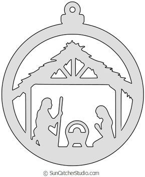 DIY Christmas Ornament Patterns, Templates, Stencils (Coloring Pages) Free Nativity Scene Christmas tree ornament patterns for the scroll saw, laser cutting patterns, or color and create homemade DIY ornaments. Diy Nativity, Nativity Ornaments, Christmas Nativity Scene, Christmas Wood, Diy Christmas Ornaments, Nativity Scenes, Beaded Ornaments, Felt Ornaments, Homemade Christmas
