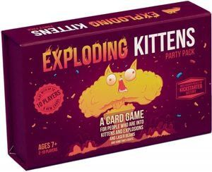 This Stand Alone Game Includes Cards From Exploding Kittens Imploding Kittens And The Exploding Kitt Exploding Kittens Card Game Exploding Kittens Party Packs